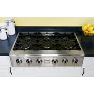 "Kenmore Pro 36"" Slide-In Ceramic-Glass Gas Cooktop at Kenmore.com"
