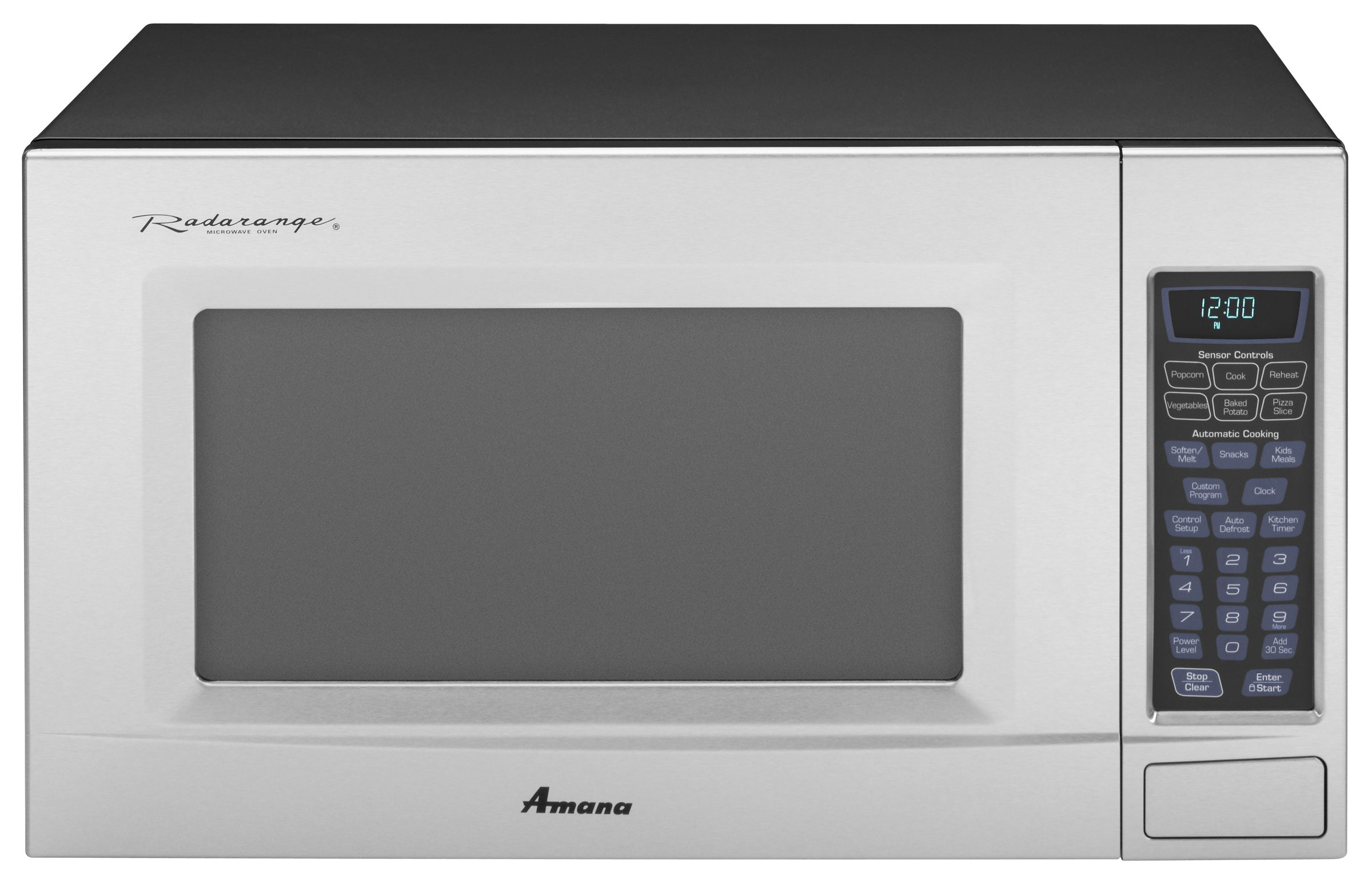 Amana Amc2206bas Radarange Reg 23 2 0 Cu Ft Microwave Oven Stainless Steel