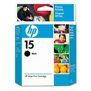 HP No. 15 C6615DN Inkjet Cartridge, Black at Sears.com
