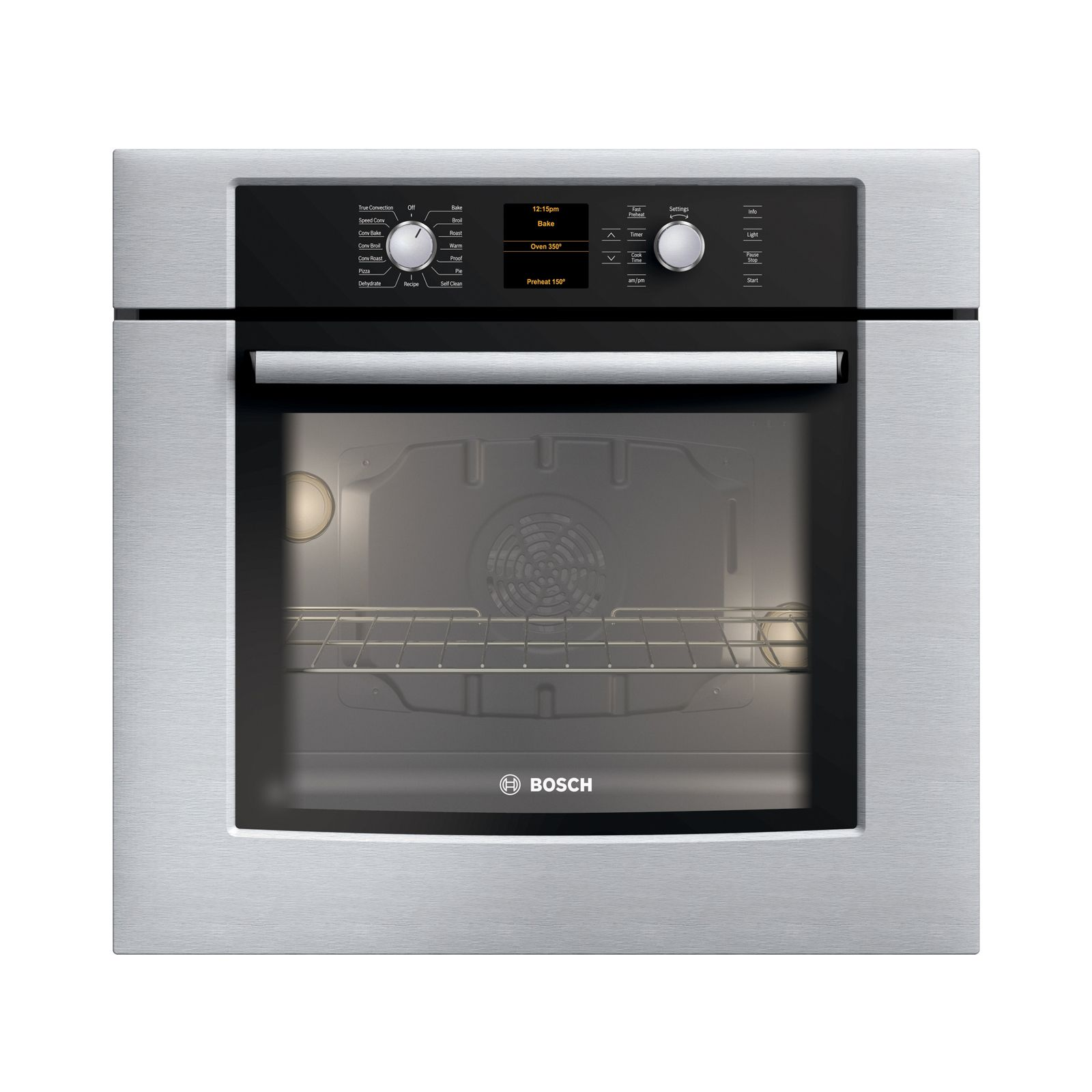 Bosch hbn3450uc 27 single electric wall oven sears for Bosch outlet