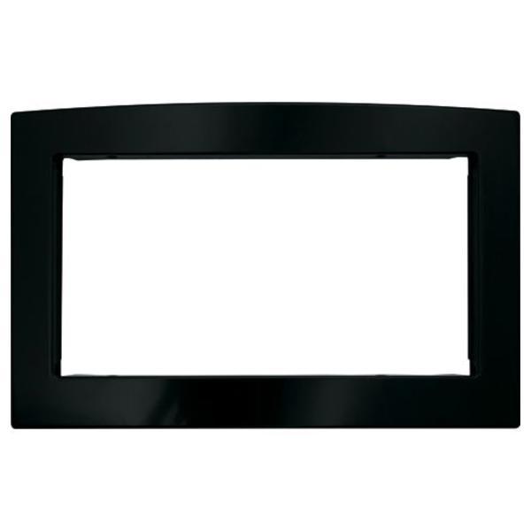 "GE Appliances JX2030DMBB  30"" Deluxe Trim Kit for GE Profile & GE&reg Countertop Microwaves - Black"