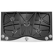 "Jenn-Air 36"" Ceramic-Glass Gas Cooktop w/ Sealed Burners at Sears.com"