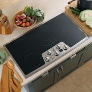 "GE Profile™ Series 36"" Built-In Electric Cooktop at Sears.com"