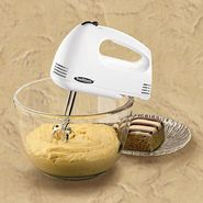 Proctor Silex Traditions Hand Mixer, White at Kmart.com