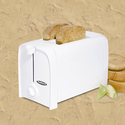 Traditions 2-Slice Toaster, White