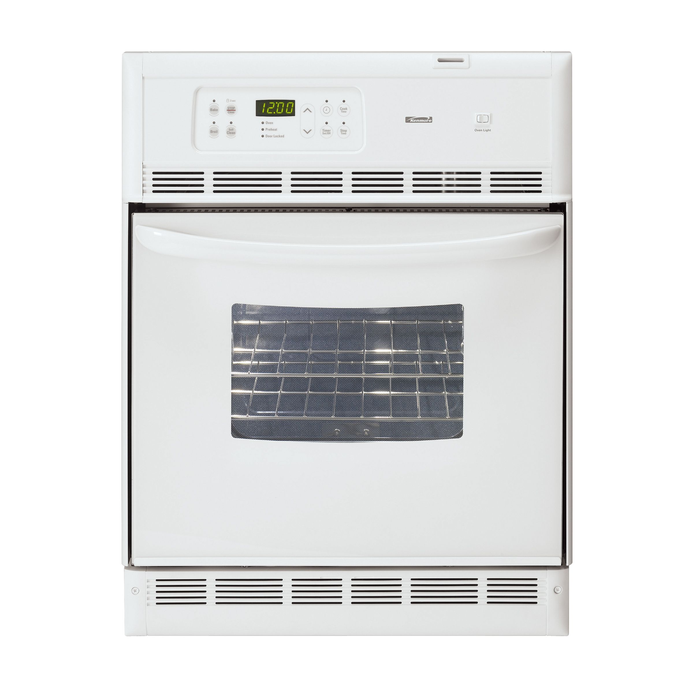 Kenmore 24 Self Cleaning Wall Oven 4045 Shop Your Way