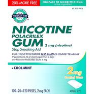 American Fare Nicotine Gum Mint 2Mg 120 Count at Kmart.com