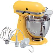 KitchenAid Artisan® Series Buttercup 5 Qt. Stand Mixer at Sears.com