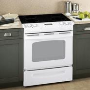 "GE 30"" Self-Clean Slide-In Electric Range w/ Ceramic Glass Cooktop at Kmart.com"