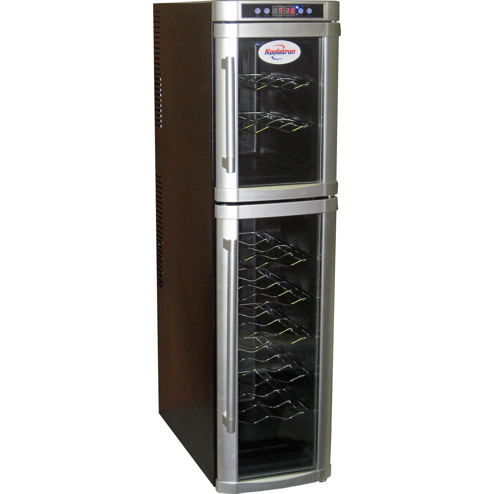 Koolatron  18-Bottle Dual Zone Wine Cellar