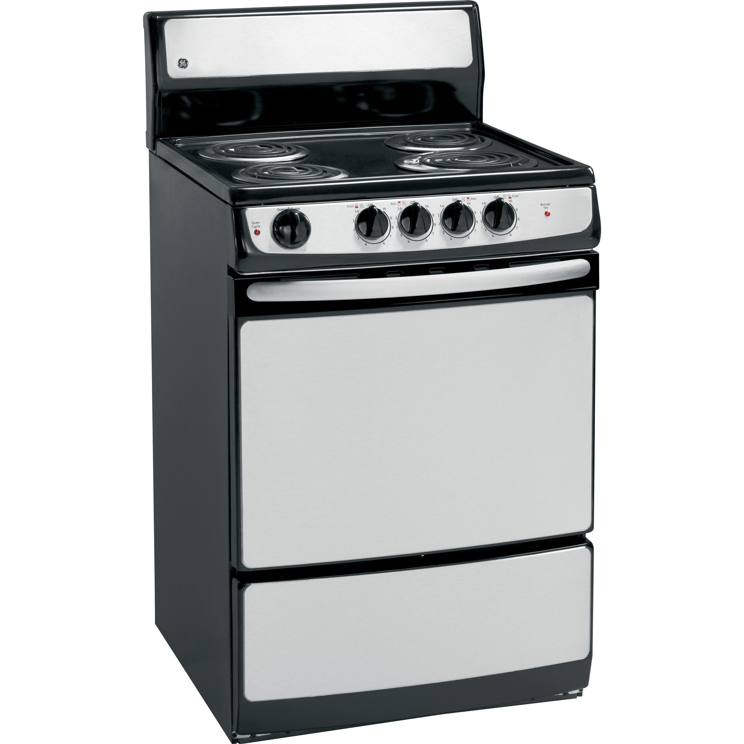 "GE Appliances JAS02SNSS 3 cu. ft. 24"" Electric Range"
