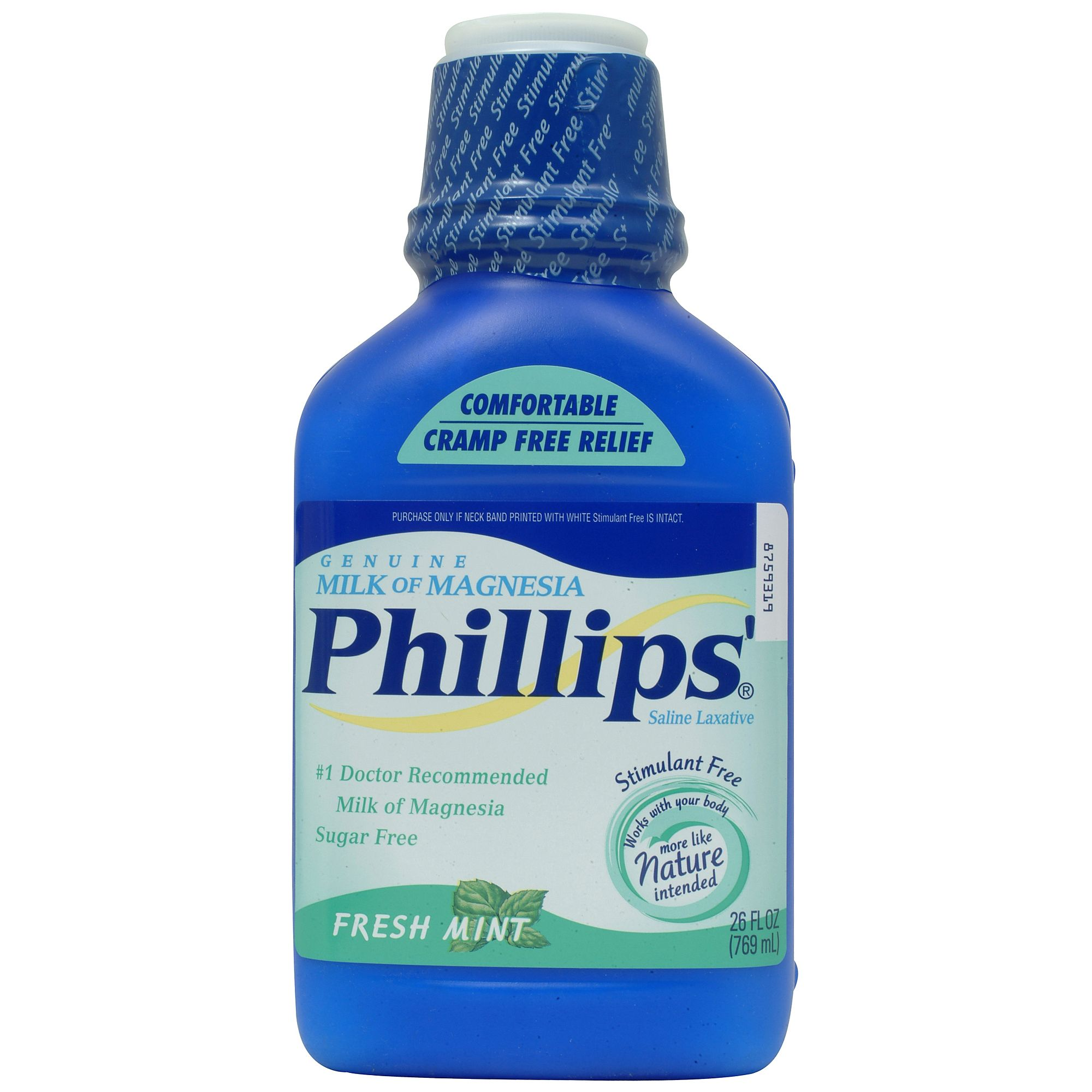 Phillips  Milk Of Magnesia Liquid Mint