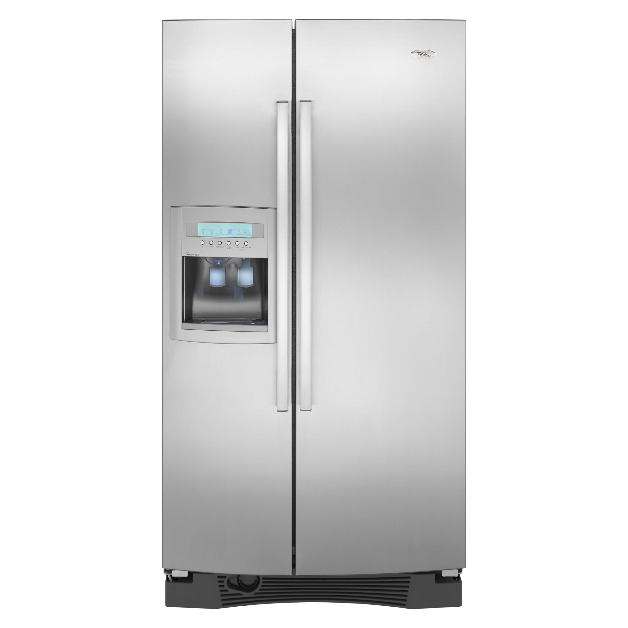 Whirlpool Gold 25.6 cu. ft. Side-By-Side Refrigerator w/ In-Door-Ice® Plus  (GS5VHAXW)