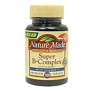 Nature Made Super B Complex With Vitamin C Tablets 100 Count at Kmart.com
