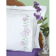 Jack Dempsey Butterflie-Lace Edge Pillowcase at Kmart.com