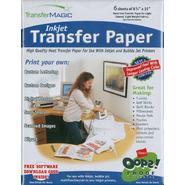 Transfer Magic 6 Sheets  -Ink Jet Transfr Ppr at Kmart.com