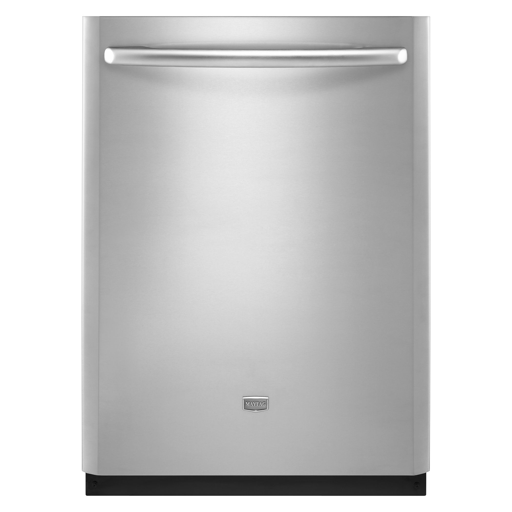 Maytag JetClean reg Plus 24 in Built-In Dishwasher with Fully Integrated Door - Stainless Steel