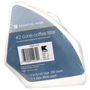Cone Coffee Filters - 200-Count at Kmart.com