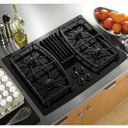 "GE Profile Profile™ Series 30""  Gas Ceramic-glass Downdraft Cooktop at Sears.com"