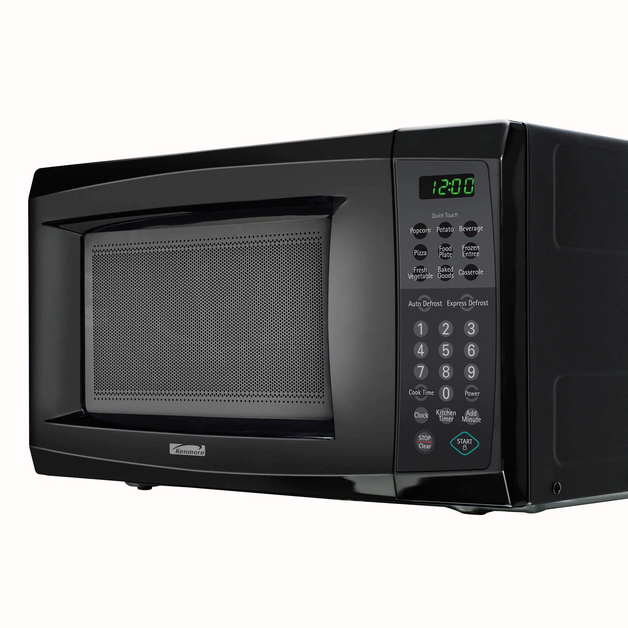 0.7 cu. ft. Countertop Microwave Oven - Black                                                                                    at mygofer.com