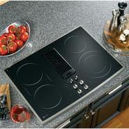 "GE Profile Profile™ Series 30"" Electric Downdraft Cooktop at Sears.com"