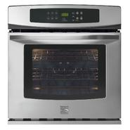 "Kenmore 27"" Electric Self-Clean Single Wall Oven at Kenmore.com"