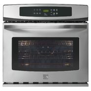 "Kenmore 30"" Electric Self-Clean Single Wall Oven 4883 at Sears.com"