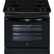 "Kenmore 30"" Self-Clean Drop-In Electric Range - Black at Kenmore.com"