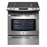 "Kenmore 30"" Self Clean Slide-In Electric Range w/ Deluxe Coil Elements at Sears.com"