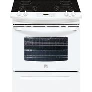 "Kenmore 30"" Self Clean Slide-In Electric Range w /Ceramic Smoothtop Cooktop at Kmart.com"