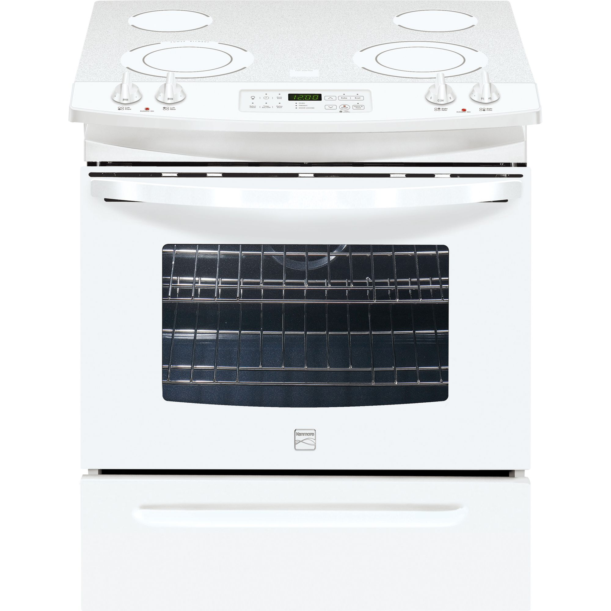 Kenmore  30'' Self Clean Slide-In Electric Range with Ceramic