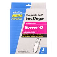 UltraCare Type Q Vacuum Bags for Hoover® Platinum Upright Vacuums 2 pk at Kmart.com