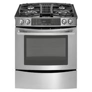 "Jenn-Air 30"" Slide-In Gas Downdraft Range w/ Convection at Sears.com"