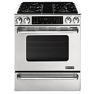 "Jenn-Air 30"" Slide-In Gas Range w/ Convection at Sears.com"