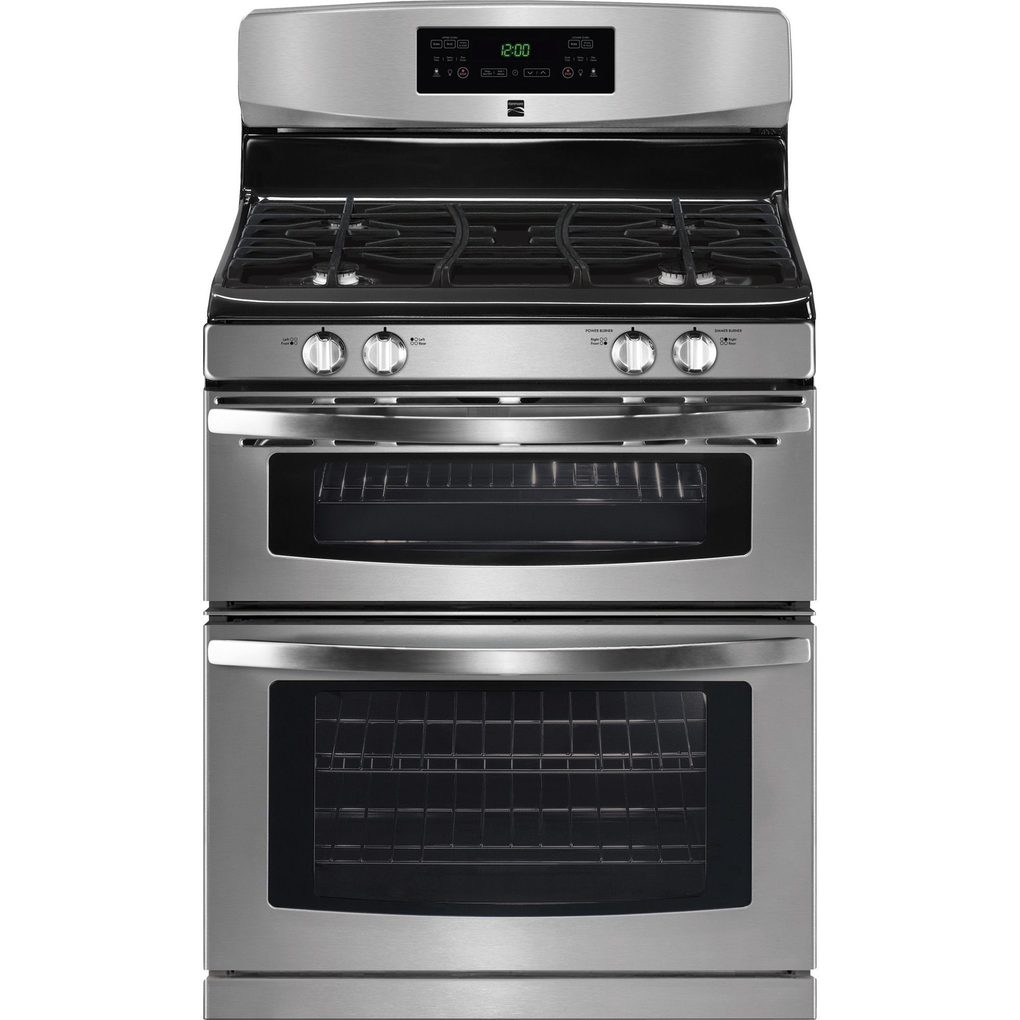 Kitchenaid Dual Oven Gas Range