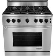 "Dacor Renaissance 36"" Slide-In Gas Range - High-Altitude Liquid Propane at Sears.com"