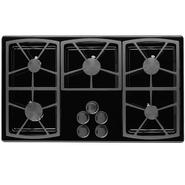 "Dacor Classic 36"" Gas Cooktop, Black - Natural Gas at Sears.com"