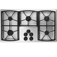"Dacor Classic 36"" Gas Cooktop, Stainless Steel - High-Altitude Liquid Propane at Sears.com"