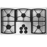 "Dacor Classic 36"" Gas Cooktop, Stainless Steel - High-Altitude Natural Gas at Sears.com"