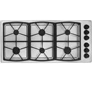 "Dacor Classic 46"" Gas Cooktop, Stainless Steel - High-Altitude Natural Gas at Sears.com"
