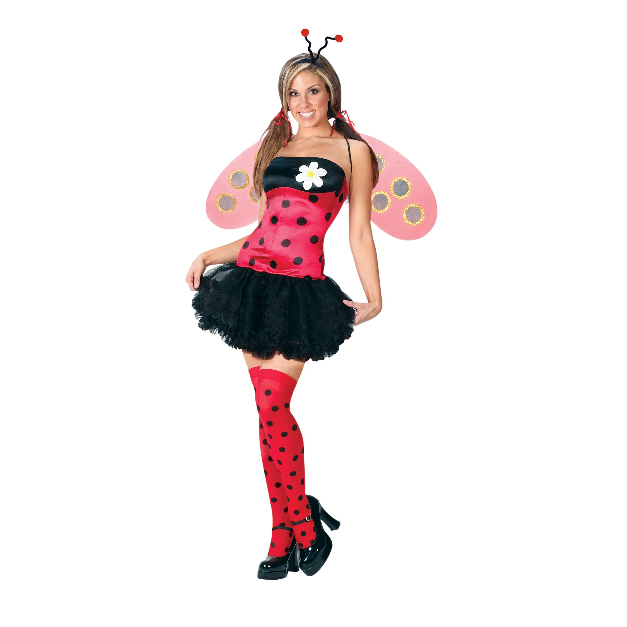 Totally Ghoul  Lovely Lady Bug Adult Costume