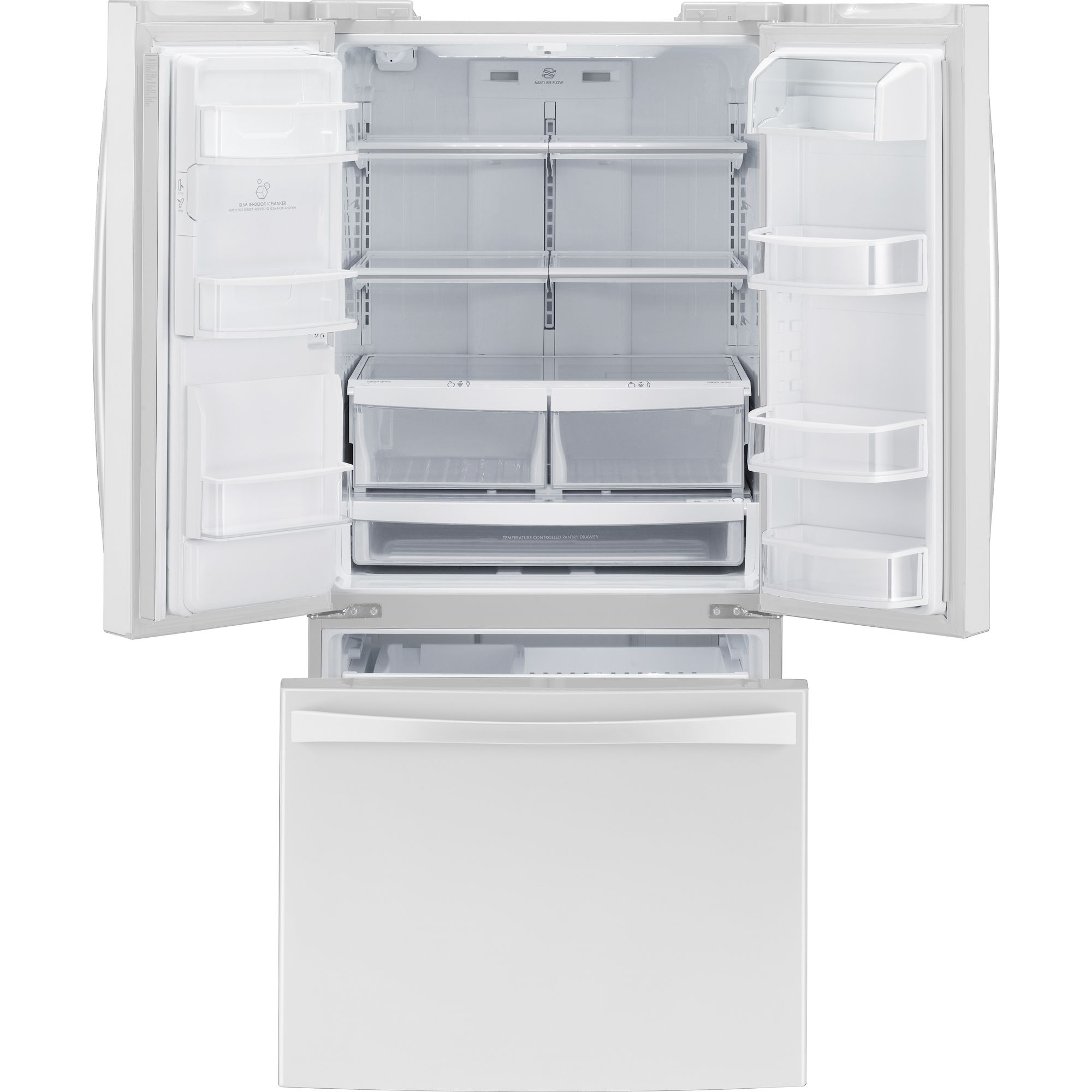 25.0 cu. ft. French-Door Bottom-Freezer Refrigerator                                                                             at mygofer.com