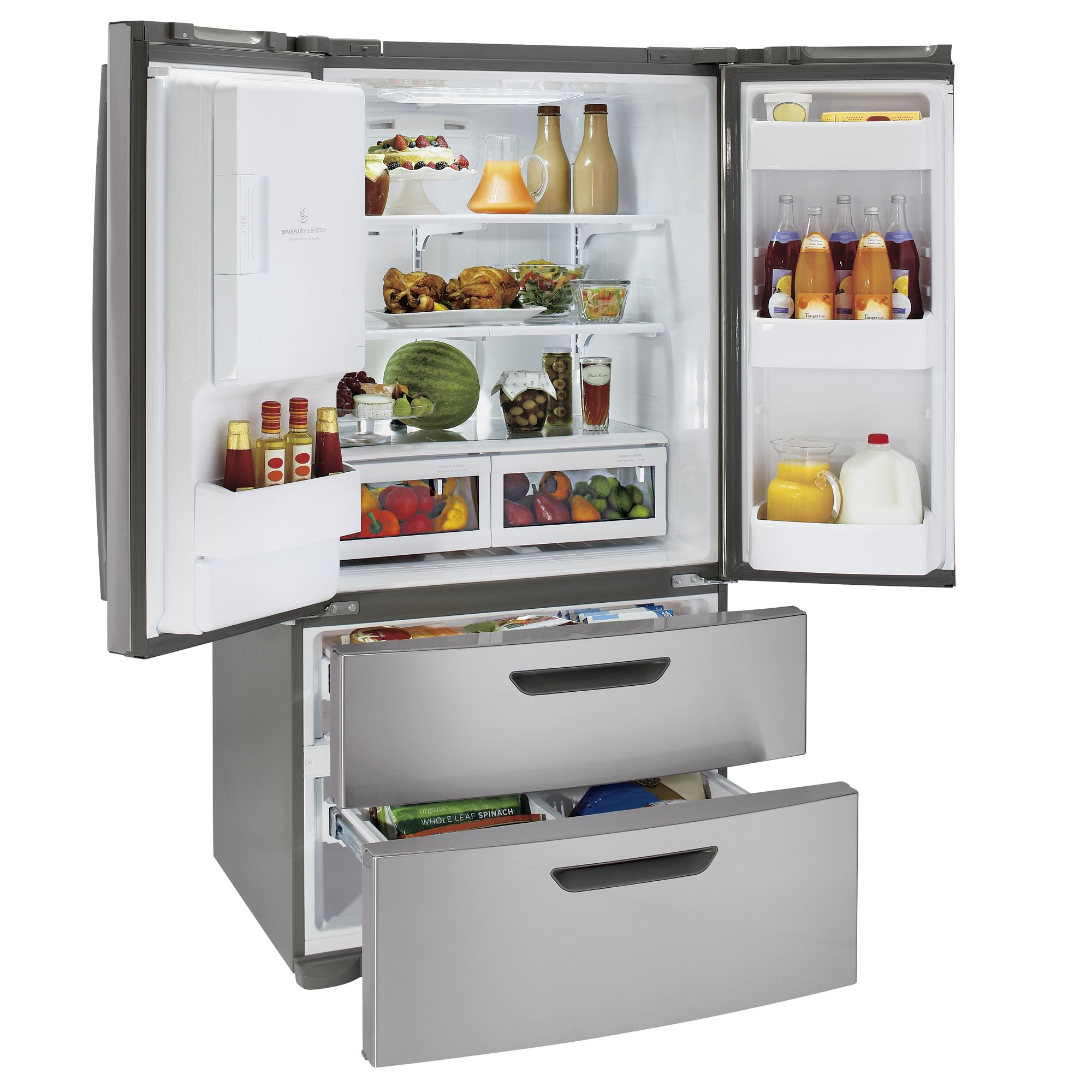 24.7 cu. ft. French-Door Bottom-Freezer Refrigerator (LMX25964)                                                                  at mygofer.com
