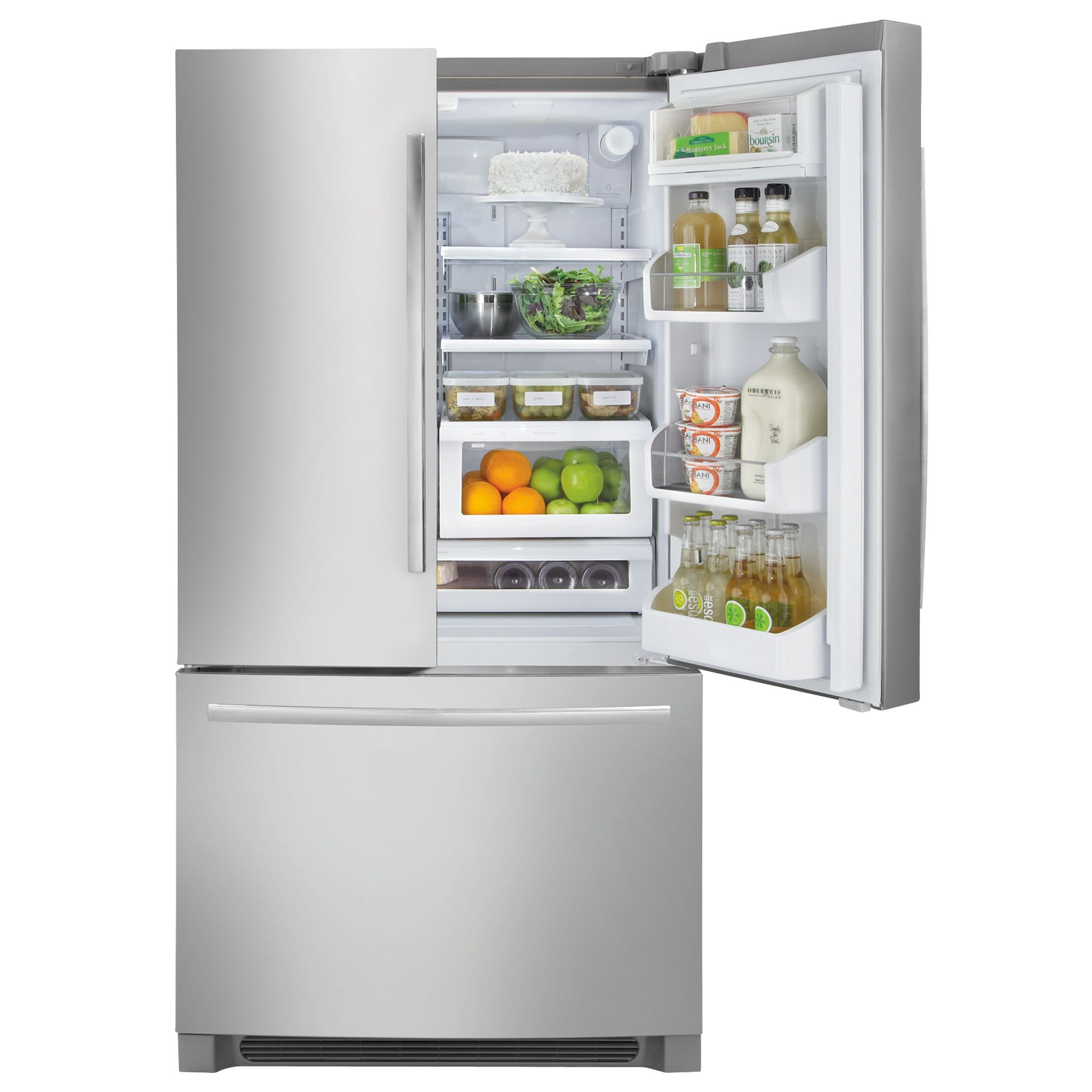 27.8 cu. ft. French-Door Bottom-Freezer Refrigerator                                                                             at mygofer.com
