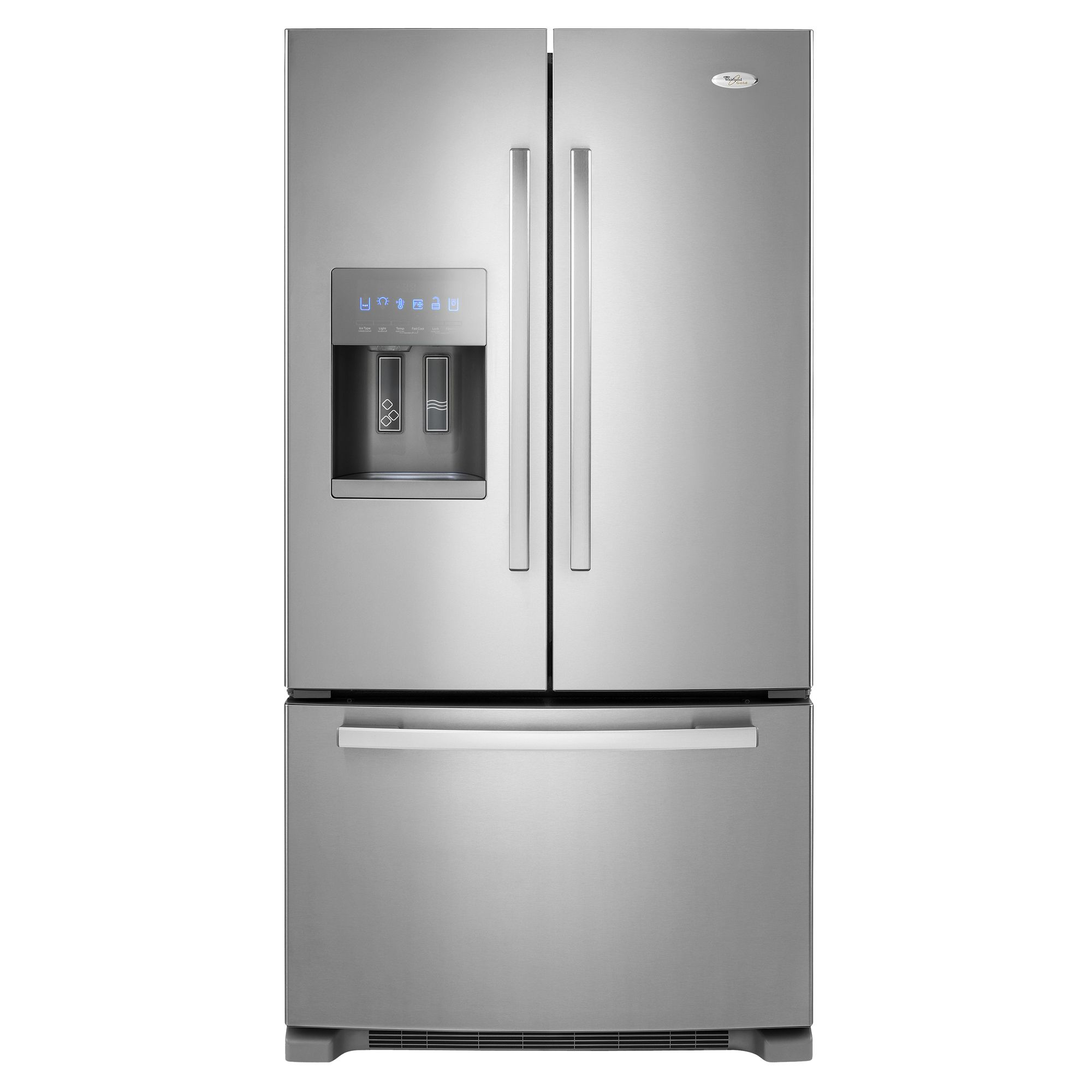 Superbe Whirlpool Gold French Door Refrigerator 25.5 Cu. Ft. GI6FARXXY   Sears