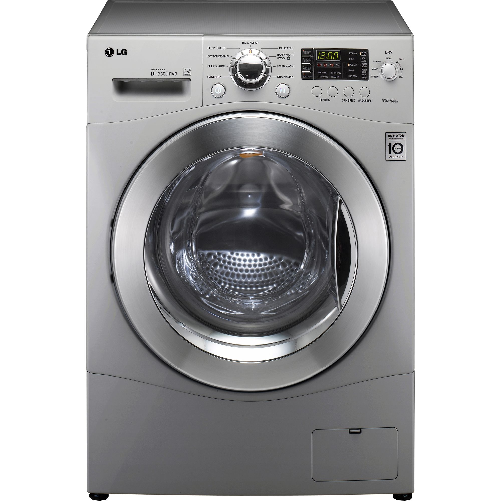 LG 2.3 cu. ft. All-in-One Washer and Dryer - Metallic