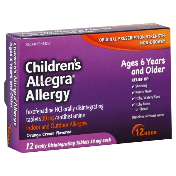 Children's Allergy, 12 Hour, Indoor and