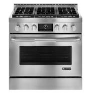 "Jenn-Air 36"" Pro-Style™ Stainless Gas Range w/ Convection at Sears.com"
