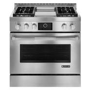 "Jenn-Air 36"" Pro-Style™ Stainless Gas Range w/ Griddle and Convection at Sears.com"