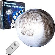 Trademark Decorative Lunar Night Light with Remote Control at Kmart.com